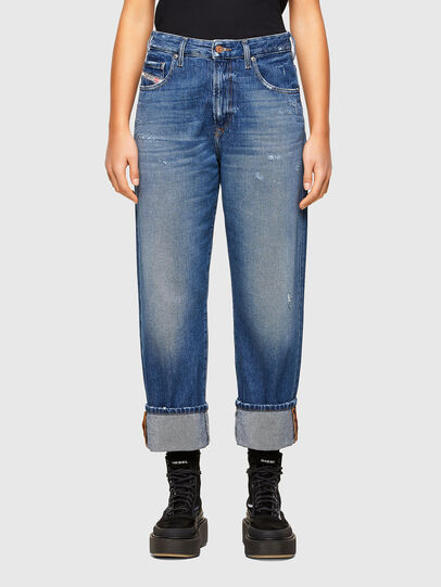 Diesel - D-Reggy 009RV, Medium blue - Jeans - Image 1
