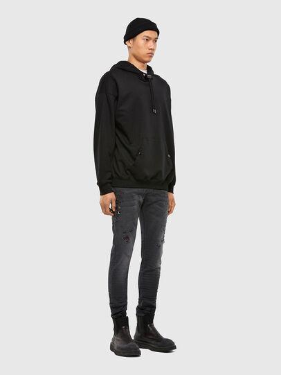 Diesel - KROOLEY JoggJeans® 069RA, Black/Dark grey - Jeans - Image 6
