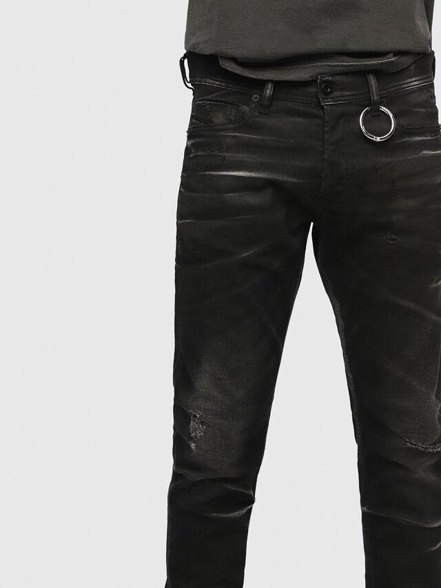 Diesel - Tepphar 0090P, Black/Dark grey - Jeans - Image 3