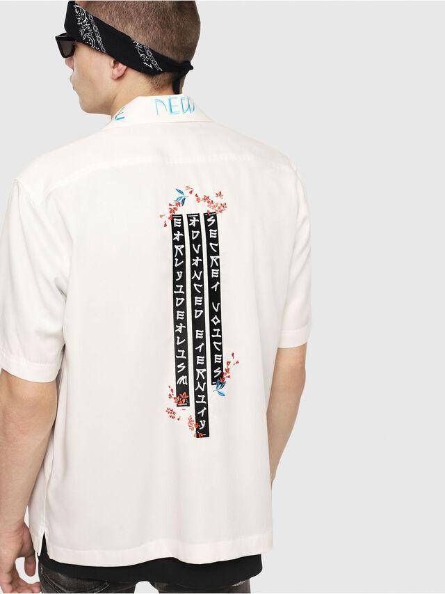 Diesel - S-KENTA-A, White - Shirts - Image 2