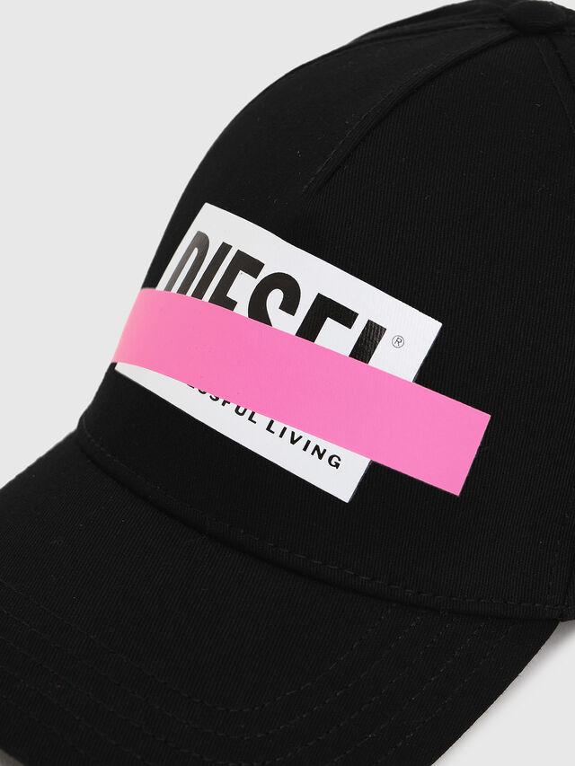 Diesel - CIRIDE, Black/Pink - Caps - Image 3