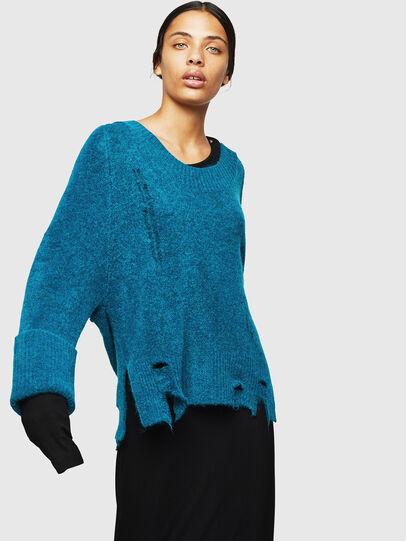 Diesel - M-MARIKAX, Blue Marine - Knitwear - Image 1