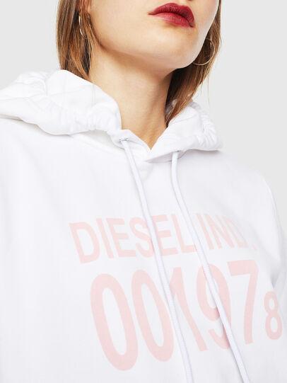 Diesel - F-ANG-HOOD-J1, White - Sweaters - Image 3