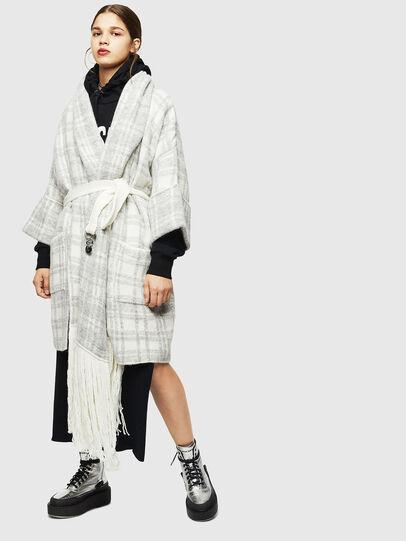Diesel - M-BOU, Grey/White - Winter Jackets - Image 1
