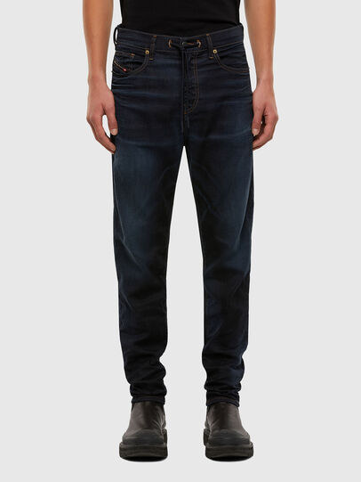 Diesel - D-VIDER JoggJeans® 069QF, Dark Blue - Jeans - Image 1
