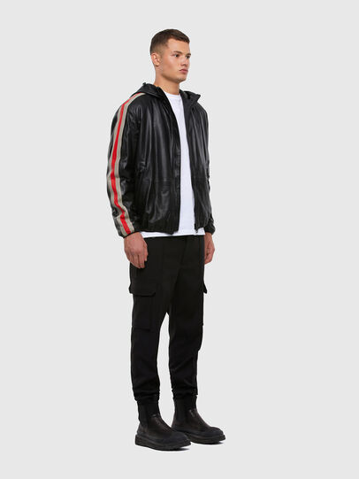 Diesel - L-MATHIAS, Black - Leather jackets - Image 6