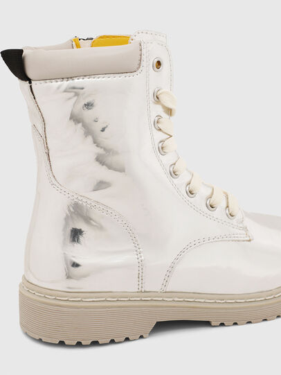 Diesel - HB LACE UP 04 CH, Silver - Footwear - Image 5
