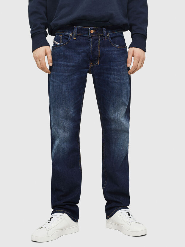 Larkee 082AY, Dark Blue - Jeans
