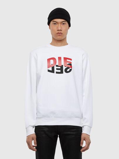 Diesel - S-GIRK-N80, White - Sweaters - Image 1