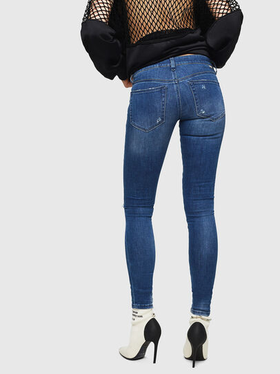 Diesel - Slandy Low 089AI, Medium blue - Jeans - Image 2