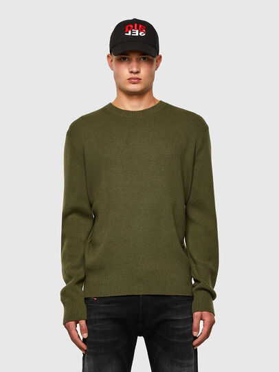 Diesel - K-AARON, Military Green - Knitwear - Image 1