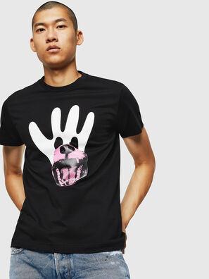 T-DIEGO-B18, Black - T-Shirts