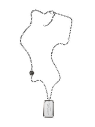 NECKLACE DX1019, Silver