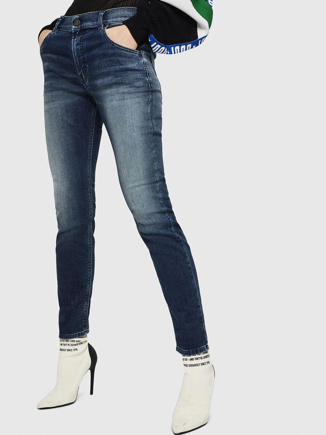 Diesel - Krailey JoggJeans 069HF, Dark Blue - Jeans - Image 1