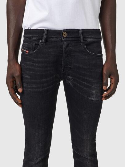 Diesel - Sleenker 09A89, Black/Dark grey - Jeans - Image 3