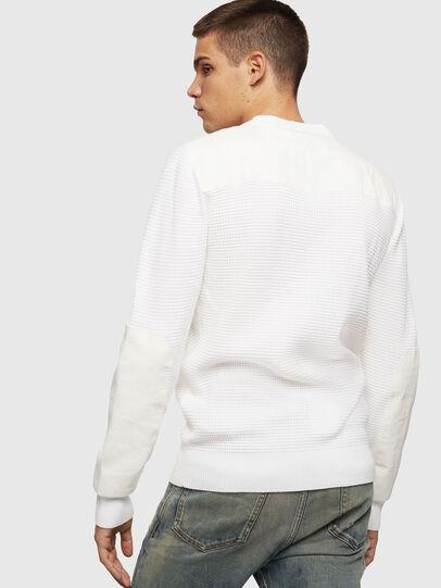 Diesel - K-LESTER, White - Knitwear - Image 2