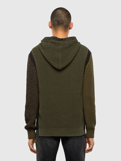 Diesel - K-CAREY, Military Green - Knitwear - Image 2