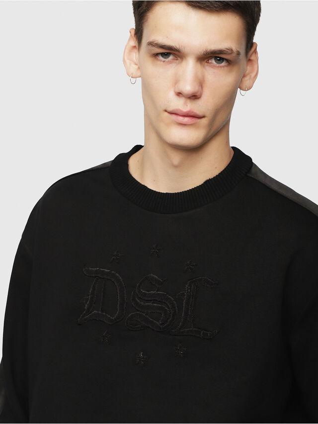 Diesel - S-BAY-RR, Black - Sweaters - Image 3