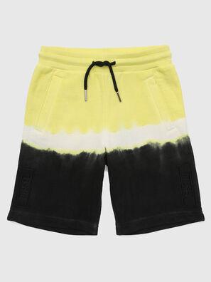 PTOXDEEP, Black/Yellow - Shorts