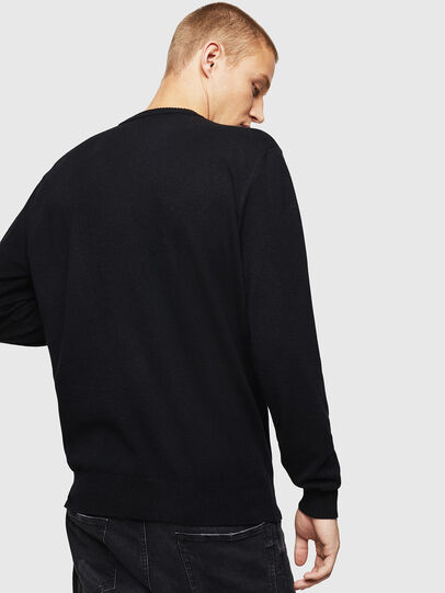 Diesel - K-JOY, Black - Knitwear - Image 2