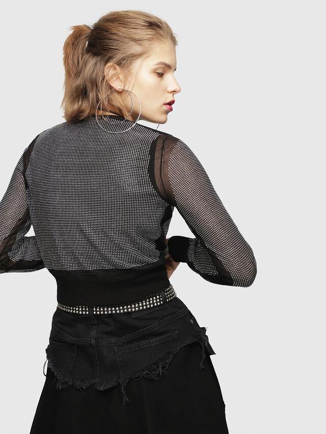 Diesel - M-TWINY, Black - Knitwear - Image 2