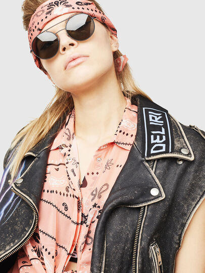 Diesel - DL0301, Black/Gold - Sunglasses - Image 5