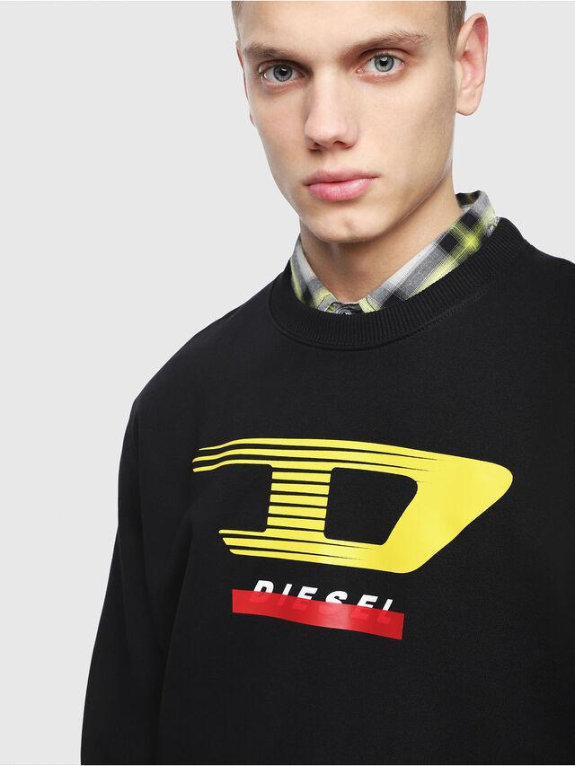 Diesel - S-GIR-Y4, Black - Sweaters - Image 3