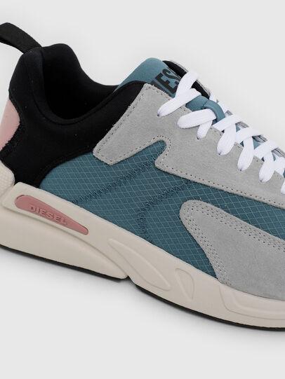 Diesel - S-SERENDIPITY LOW CU, Grey/Blue - Sneakers - Image 4