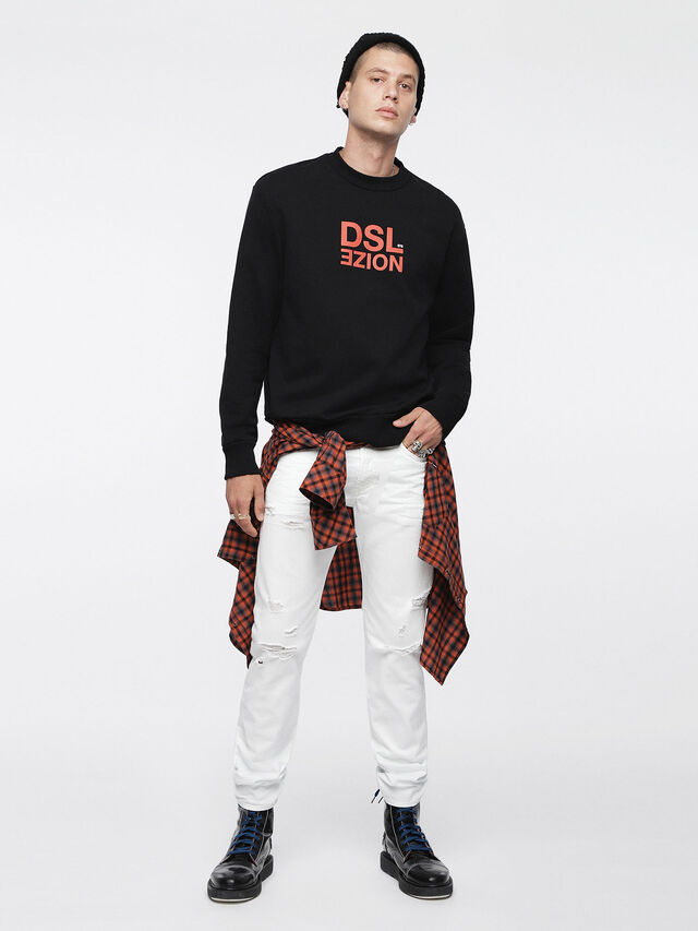 Diesel - Buster 0680K, White - Jeans - Image 4