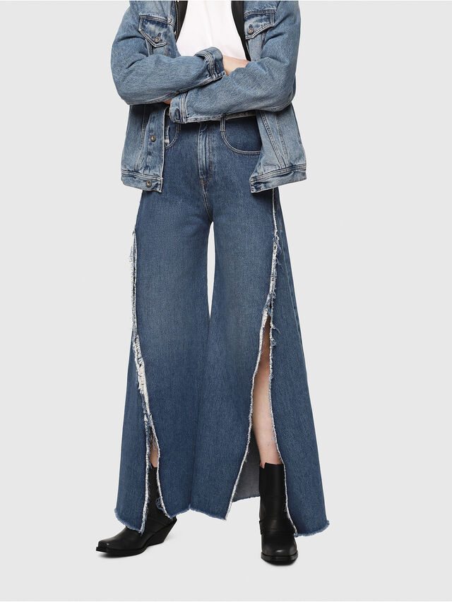 Diesel - D-Izzier 080AN, Medium blue - Jeans - Image 1