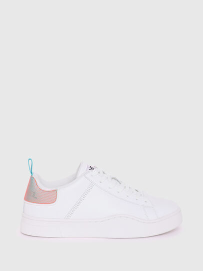 Diesel - S-CLEVER LOW LACE W, White/Blue - Sneakers - Image 1