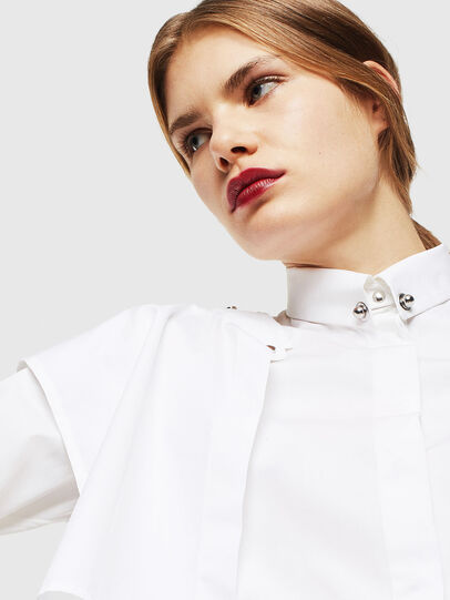 Diesel - C-RAILY-SHAPED, White - Shirts - Image 6