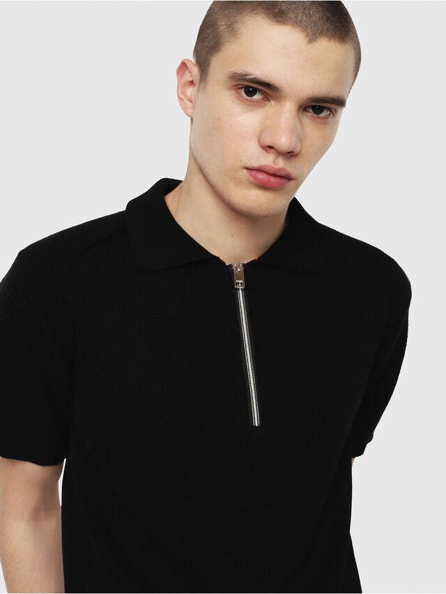 Diesel - K-MYX, Black - Knitwear - Image 3
