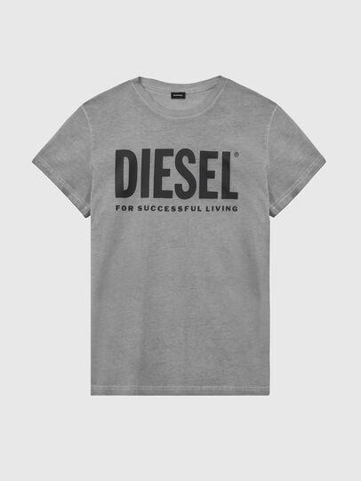 Diesel - T-SILY-WX, Dark grey - T-Shirts - Image 1