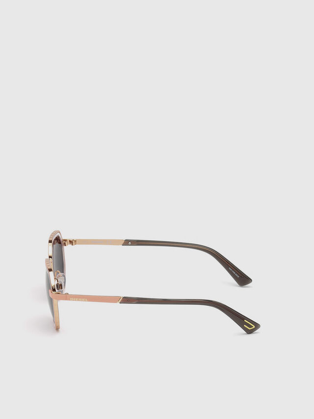 Diesel - DL0267, Pink - Sunglasses - Image 3