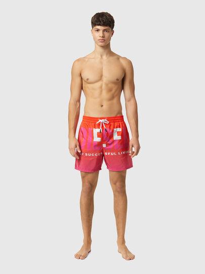 Diesel - BMBX-WAVE-X, Orange - Swim shorts - Image 1