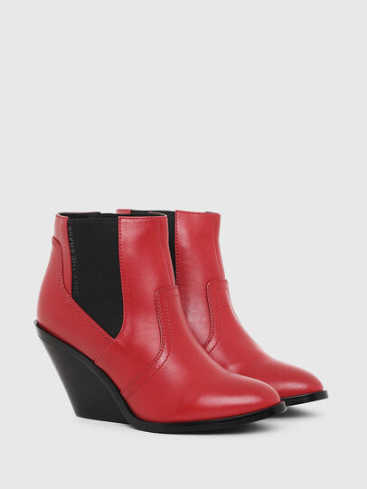Diesel - D-FLAMINGO CB, Red - Ankle Boots - Image 2