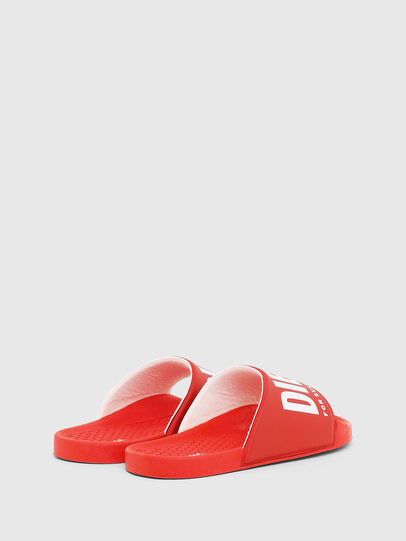 Diesel - FF 01 SLIPPER CH, Red - Footwear - Image 3