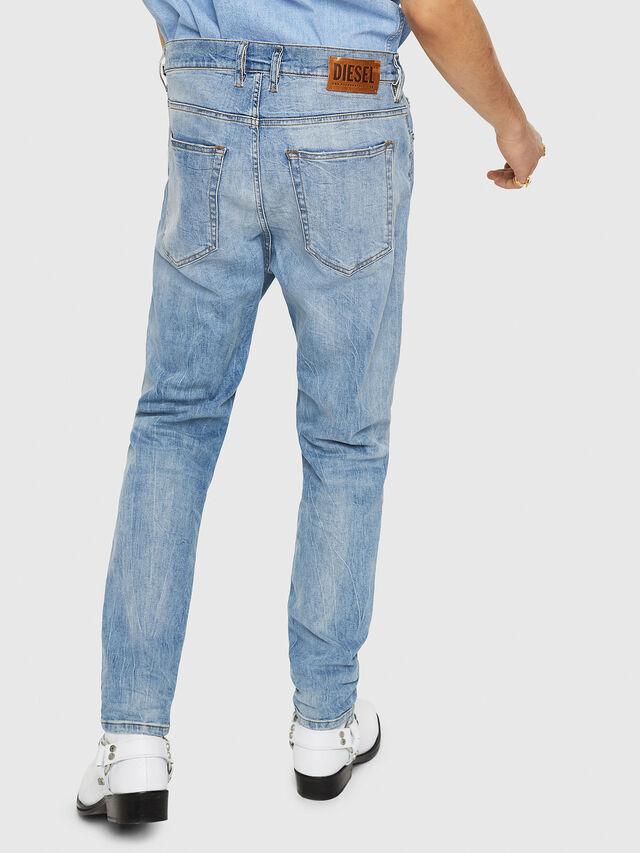 Diesel - D-Vider 081AL, Light Blue - Jeans - Image 2