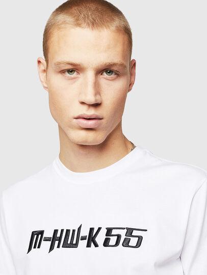 Diesel - T-DIEGO-B17, White - T-Shirts - Image 3
