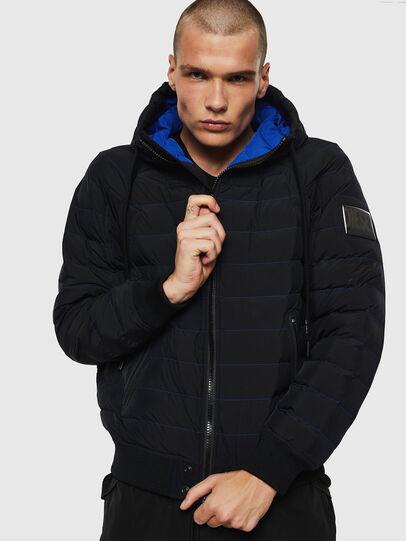 Diesel - W-OBLOSKY, Black - Winter Jackets - Image 1