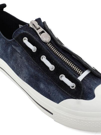 Diesel - S-ASTICO LZIP, Dark Blue - Sneakers - Image 4