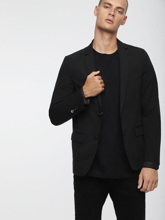 Diesel - J-MIRIKO, Black - Jackets - Image 1