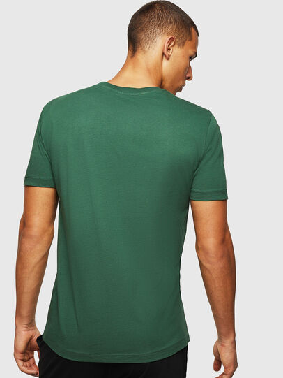 Diesel - UMLT-JAKE, Dark Green - T-Shirts - Image 2