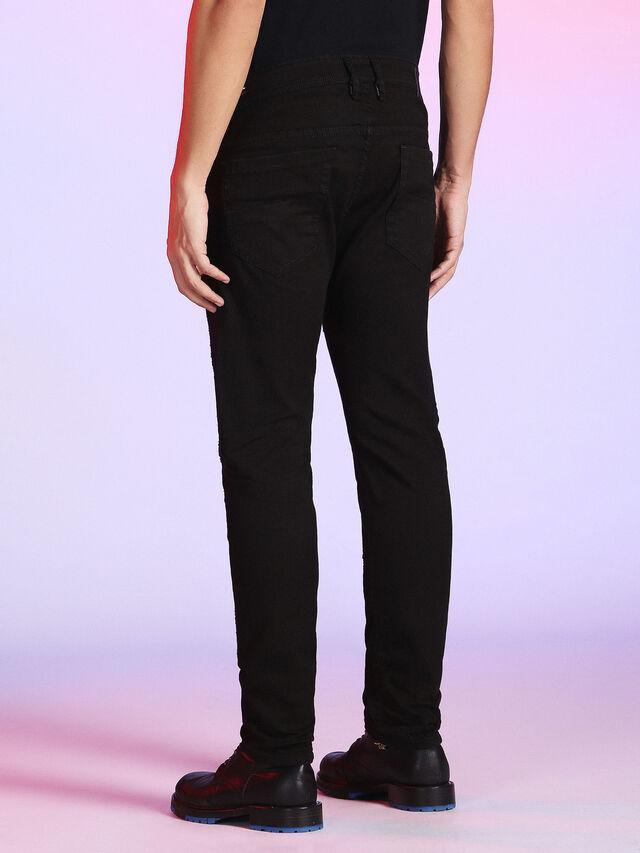 Diesel - LU-THOMMER 0699U, Black Jeans - Jeans - Image 3
