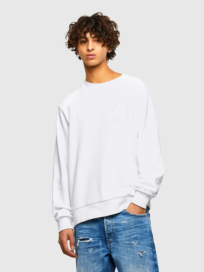 Diesel - S-GIRK-A73, White - Sweaters - Image 1