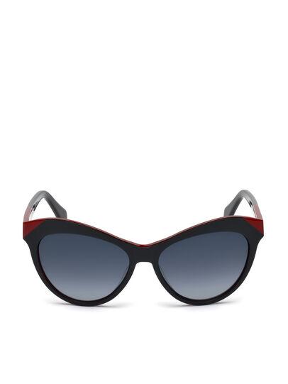 Diesel - DL0225, Black - Sunglasses - Image 1