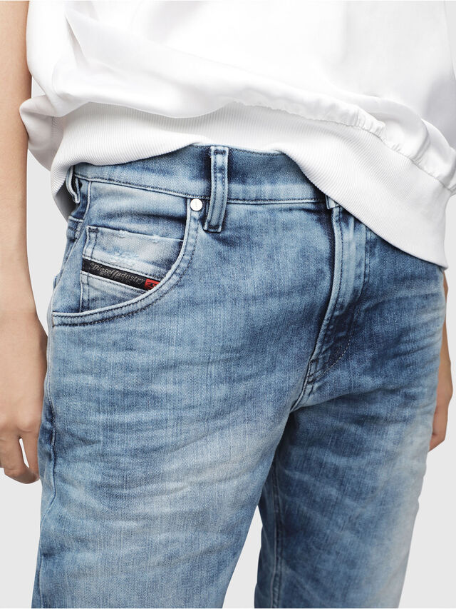 Diesel - Krailey JoggJeans 080AS, Medium blue - Jeans - Image 3