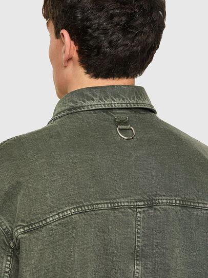 Diesel - J-GEORG, Olive Green - Jackets - Image 3