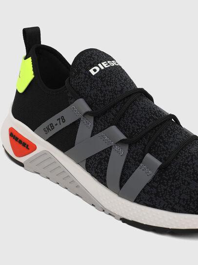 Diesel - S-KB WEB LACE, Black/Blue - Sneakers - Image 4